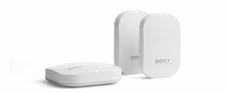 eero Pro Mesh WiFi System - Fast, reliable WiFi for 2-4 bedroom homes