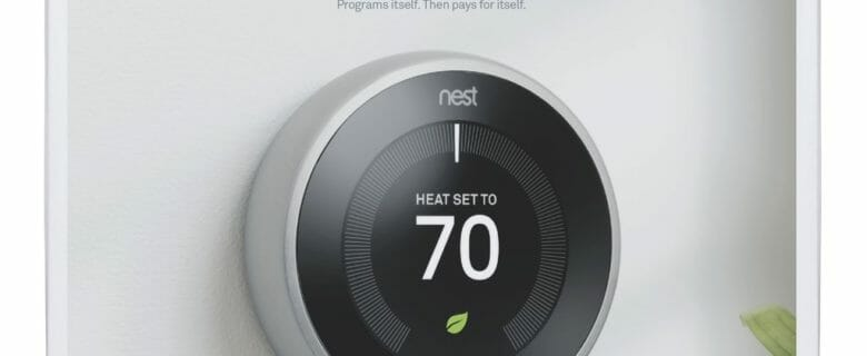 Google, T3007ES, Nest Learning Thermostat