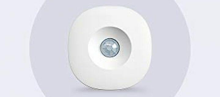 Samsung SmartThings Motion Sensor [GP-U999SJVLBAA] with Slim Design and Optional Automated Alerts - Zigbee – White