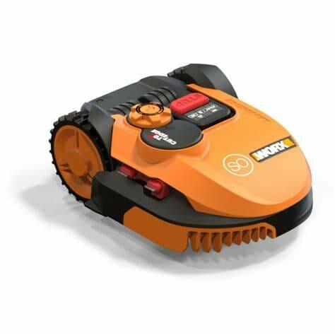 WORX WR150 Landroid L 20V Robotic Lawn Mower, Orange
