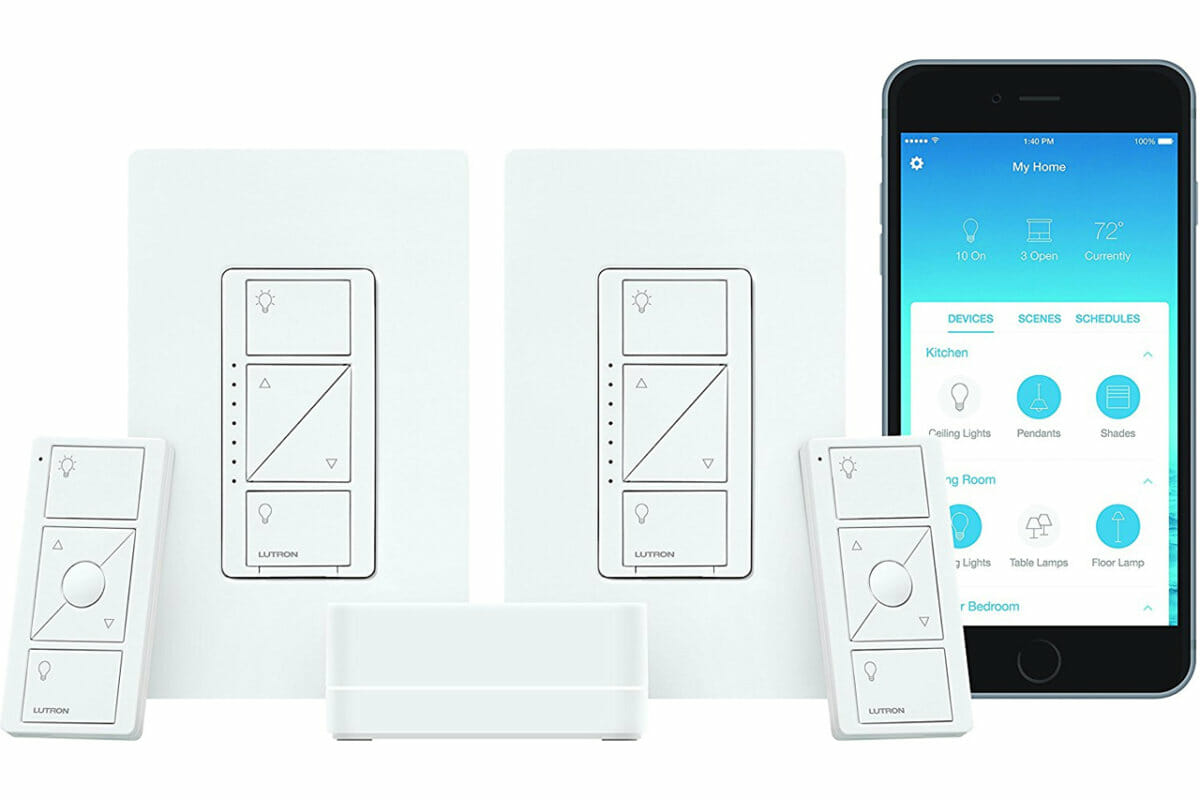 Lutron Caseta Smart Start Kit, Dimmer Switch